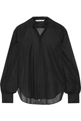Helmut Lang Cotton Voile Shirt Black