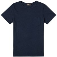 Rrl Pocket Tee Blue
