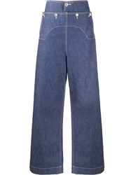 Marni High Rise Button Detail Jeans 60