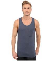 The North Face Crag Tank Top Cosmic Blue Heather Men's Sleeveless