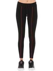 D Antidote Lurex Knit Leggings Black