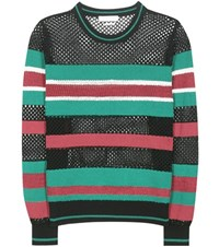 Etoile Isabel Marant Deacon Striped Knitted Sweater Multicoloured