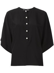 Givenchy Button Placket Blouse Black