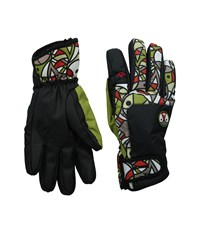 Celtek Faded Pendleton Snowboard Gloves Black