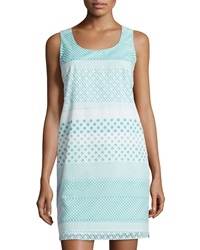 Paperwhite Polka Dot Tank Dress Paradise Green