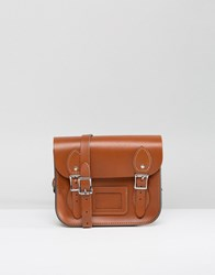 Leather Satchel Company Mini In London Tan Tan