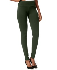 Inc International Concepts Pull On Ponte Skinny Pants Only At Macy's Fern Green