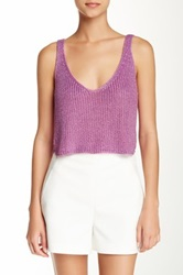 American Apparel Sparkle Cropped Tank