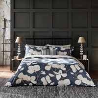 Harlequin Kienze Duvet Cover Ink Blue