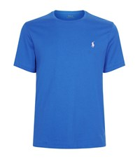 Polo Ralph Lauren Small Pony Custom Fit T Shirt Male Blue