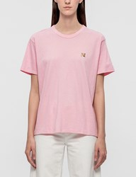Maison Kitsune Fox Head Patch Ss T Shirt