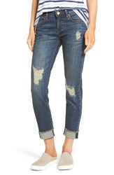 Kut From The Kloth Women's Amy Ripped Straight Leg Jeans