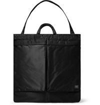 Porter Yoshida And Co Tanker Padded Nylon Blend Tote Bag Black