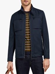 Ted Baker Exmoth Funnel Neck Jacket Navy