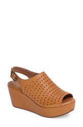 Chocolat Blu Women's Wala Perforated Wedge Sandal