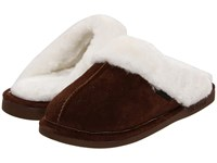 Old Friend Montana Chocolate Women's Slippers Brown