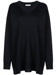 The Row Oversized Jumper Blue