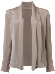 Peter Cohen Relaxed Fit Blazer Nude Neutrals