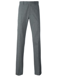 Theory Straight Leg Trousers Grey