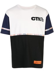 Heron Preston Colour Block T Shirt 60
