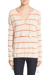 Autumn Cashmere Women's Baja Stripe Sweater