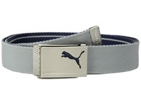 Puma Golf Reversible Web Belt Peacoat Quarry Belts White