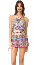 Camilla Tie Front And Sides Romper Dream Weavers