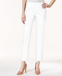 Charter Club Petite Tummy Control Ankle Pants Only At Macy's