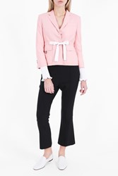 Thom Browne Women S Belted Jacket Boutique1 Pink