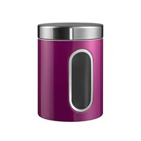 Wesco Kitchen Storage Canister With Window Purple
