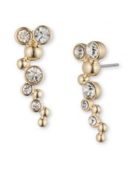 Lonna And Lilly Rhinestone Crawler Earrings Gold