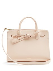 Mansur Gavriel Mini Sun Leather Tote Light Pink