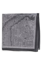 Men's Todd Snyder White Label 'New York' Cotton Pocket Square