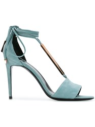 Pierre Hardy Blondie Sandals Blue