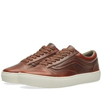 Vans Vault X Horween Leather Co. Old Skool Cup Lx Brown