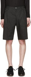 Dolce And Gabbana Black Polka Dot Shorts