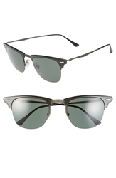 Ray Ban 'Tech Liteforce Clubmaster' 51Mm Sunglasses Black Green