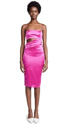 Misha Collection Selina Dress Fuchsia