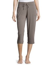 Skin Easy Cropped Pants Dusk