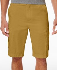 Univibe Men's Peached Cargo Shorts Dull Gold