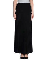 Class Roberto Cavalli Long Skirts Black
