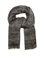 Denis Colomb Hokkaido Nomad Yak And Cotton Scarf Grey Multi