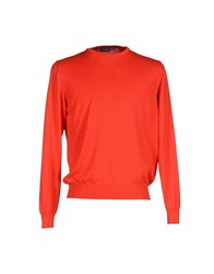 Rossopuro Knitwear Jumpers Men Red