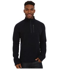 Smartwool Echo Lake Half Zip Top Deep Navy Heather Men's Fleece