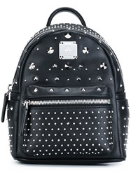 Mcm X Mini 'Stark Special' Backpack Black