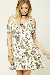 Forever 21 Contemporary Floral Swing Dress
