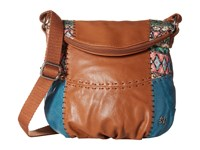 The Sak Deena Crossbody Flap Teal Tribal Cross Body Handbags Multi