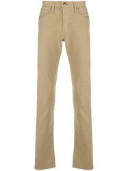 J Brand Kane Slim Fit Trousers Nude And Neutrals