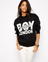 Boy London Hoodie Black