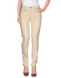Frankie Morello Trousers Casual Trousers Women Beige